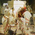 Vitaly Grafov. The murder of Caesar. 2003