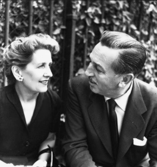 Walt and his wife