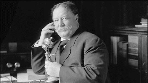 William Howard Taft – US president