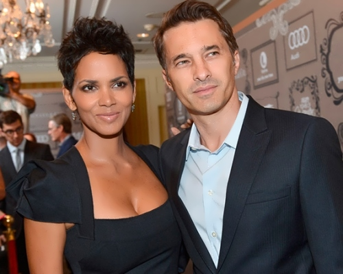 Halle and Olivier Martinez