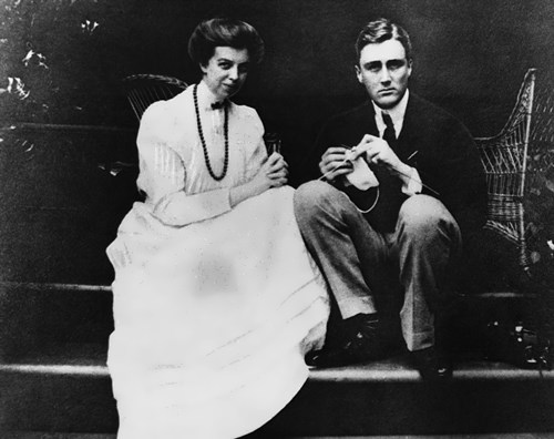 Franklin and Eleanor Roosevelt, 1905