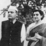 Indira and her husband Feroze Gandhi