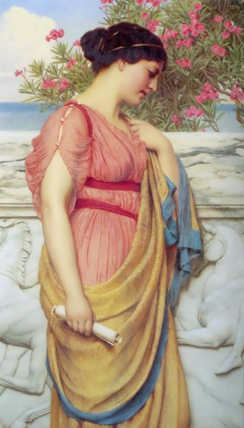 Sappho by J. Howard, 1910