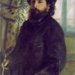 Auguste Renoir. Portrait of Claude Monet. 1875