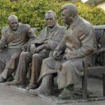 Joseph Stalin, Franklin Roosevelt, Winston Churchill