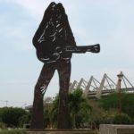 Statue of Shakira in Barranquilla, Colombia