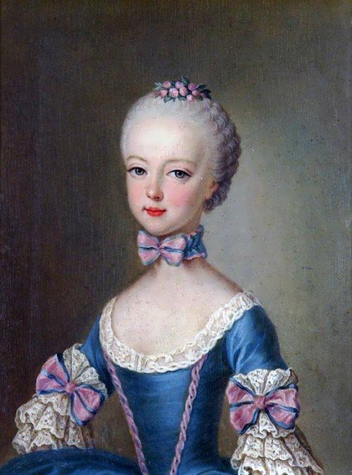 Marie Antoinette is seven years old, 1762