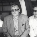 Shostakovich, his wife Irina and Azerbaijani composer Gara Garayev