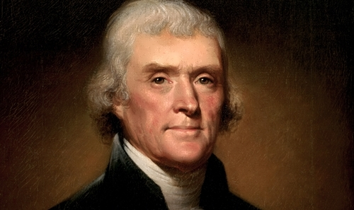 Thomas Jefferson - 3rd President of America