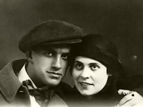 Lilya Brik and Mayakovsky