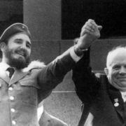 Castro and Nikita Khrushchev