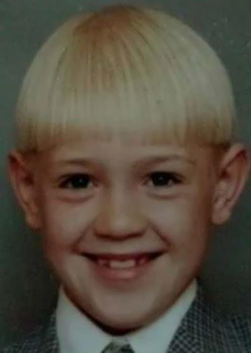 McGregor in his childhood