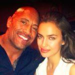 Dwayne and Irina Shayk