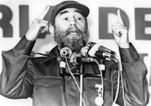 Fidel Castro - fiery orator