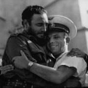 Fidel and Yuri Gagarin in Cuba