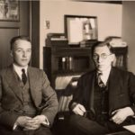 Frederick Banting (right) and his assistant, Charles Herbert Best