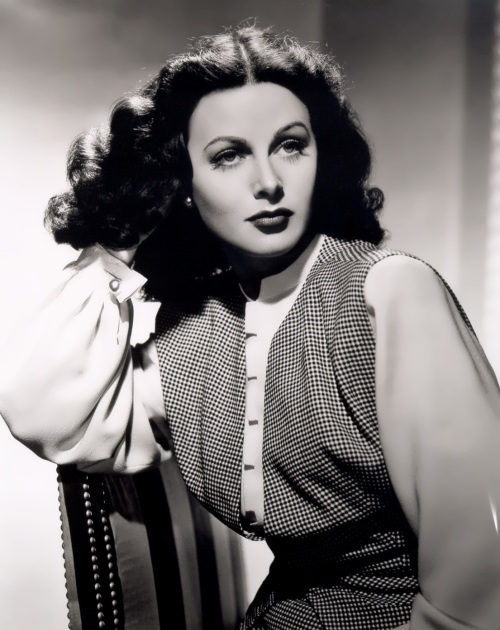 Hedy Lamarr - actress and inventor