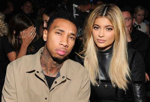 Kylie Jenner and rapper Tyga