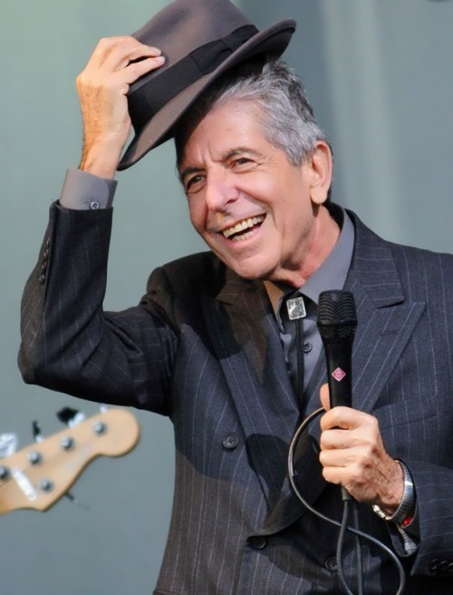 Leonard Cohen - singer and songwriter