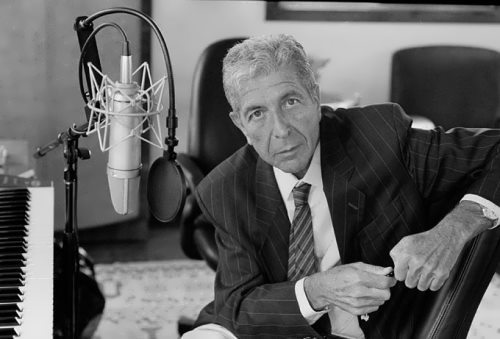 Leonard Cohen – great poet and musician