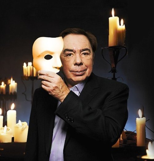 Sir Andrew Lloyd Webber - British composer