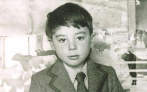 Lloyd Webber in his childhood