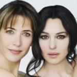 Sophie Marceau and Monica Bellucci