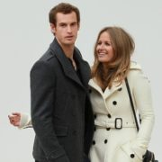 Murray and his wife Kim Sears