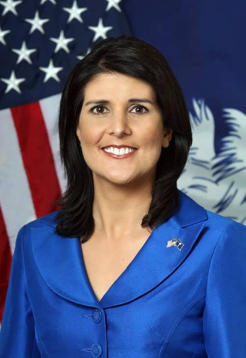 Nikki Haley – American politician. Governor Haley Official Portrait