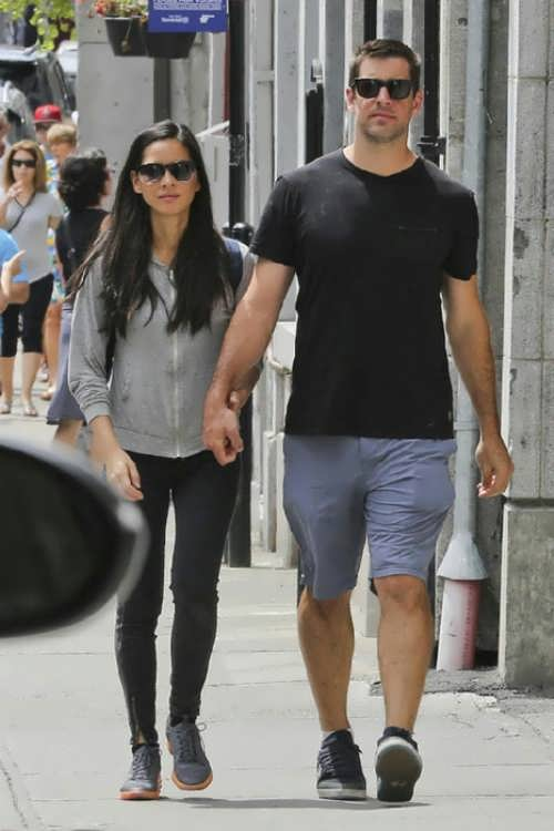 Olivia Munn and Aaron Rodgers