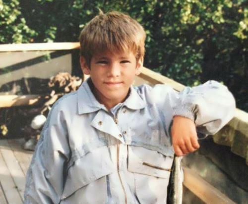 Reynolds in his childhood