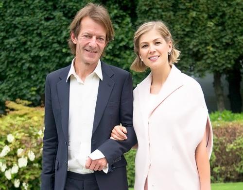 Rosamund and her husband Robie Uniacke