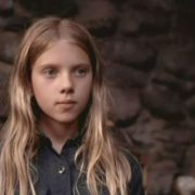 Scarlett Johansson in her childhood
