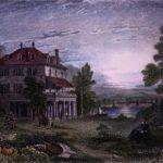 Villa Diodati near Geneva, birthplace of Frankenstein