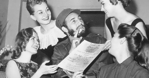 Comandante Castro and women
