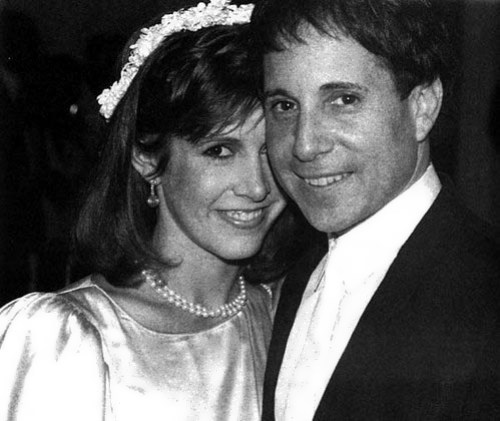 Carrie and Paul Simon