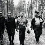 Kissinger and Leonid Brezhnev