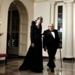 Henry and his wife Nancy Kissinger