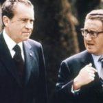 Richard Nixon and Kissinger
