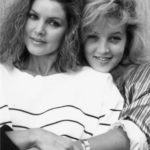 Lisa Marie and her mother Priscilla Beaulieu Presley