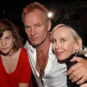 Sting and his family