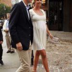 Pregnant Ivanka with her husband Jared Kushner
