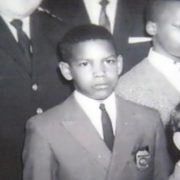 Denzel Washington in his childhood