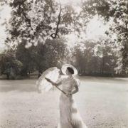 Queen Elizabeth at Buckingham Palace Park, 1939