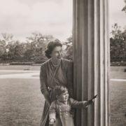 Princess Elizabeth and her son Prince Charles. September 1950