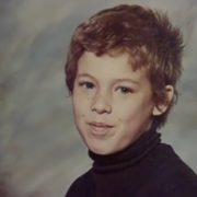 Alexander McQueen in his childhood