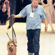 Alexander McQueen and his dogs