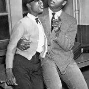 Little Stevie Wonder and Muhammed Ali