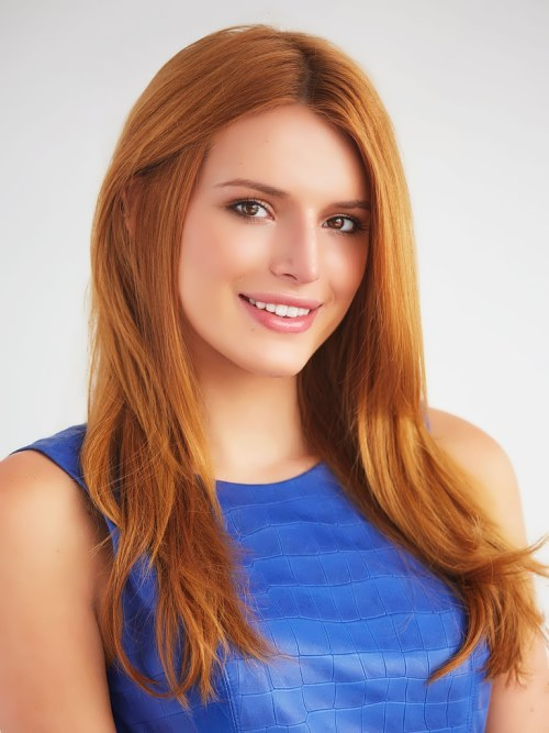 Bella Thorne - American actress and singer