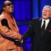 Tony Bennett and Stevie Wonder
